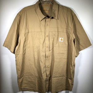 Carhartt Force Cotton Blend Button Front Vented